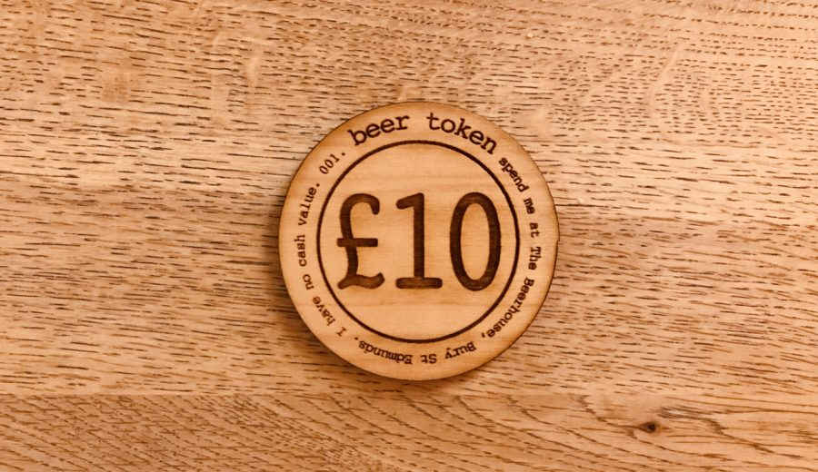 7dea1bb386d956 beer tokens - The Beerhouse Bury St Edmunds