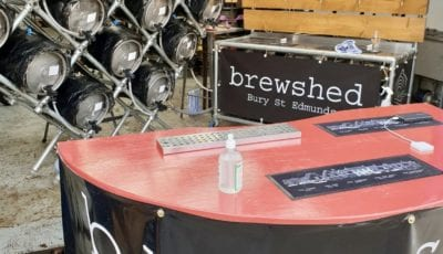 Brewshed pop-up